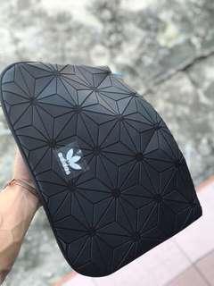 FREE POSTAGE + FREE GIFT!! Adidas Clutch Bag x Issey Miyake | TRIPLE BLACK