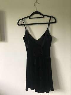 Glassons velvet jumpsuit