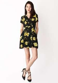 Aforarcade AFA Kit Swing Dress in Florals