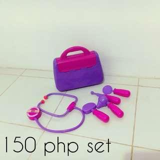 Purple and pink doctor set