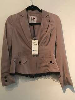Italian coat brand new XS