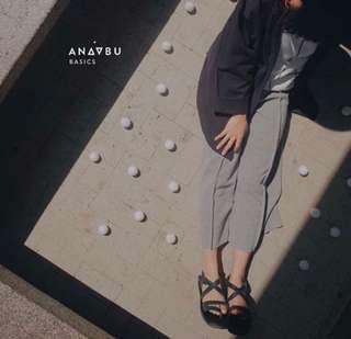 Anaabu Jersey culottes freesize