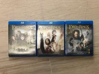 Lord Of The Rings Trilogy (Blu Ray)