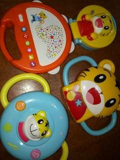Baby toys with sounds