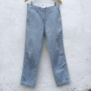 Hickory Stripe Pants Uniqlo