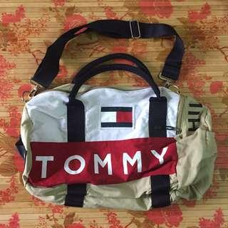 90s TOMMY HILFIGER Duffel Bag