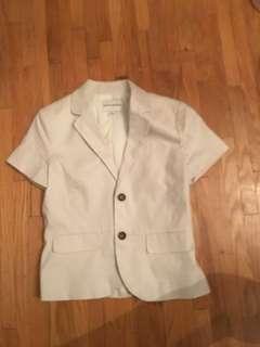 Banana republic white jacket
