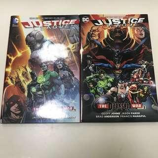 Darkseid War Part 1 & 2