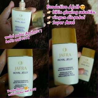 Jafra royal jelly foundation