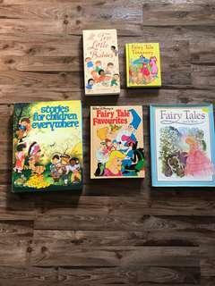 Fairytale books ( Hard cover)