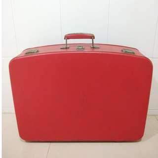 早期正老件 嫁妝箱 行李箱 擺攤 陳列 道具 裝潢 擺飾