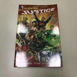 Justice League Vol 1 Origin New 52