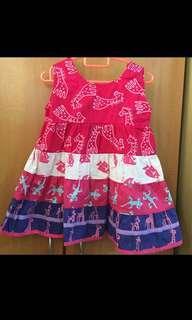 Safari Animal Pink dress