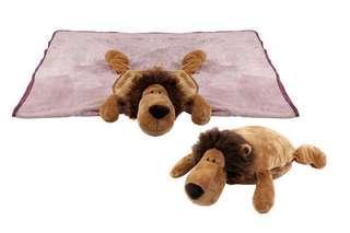 Lion Blanket + Pillow