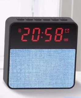 BNIB Speaker with LED alarm clock