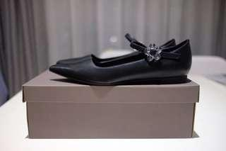 Charles & Keith Flats Covered Mary Janes Size 37 Like NEW