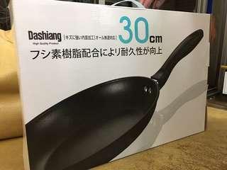 🚚 DASHIANG 碳鋼平底煎鍋 30CM 全新 平底鍋