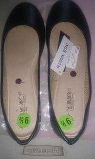 Harborside ballet flat shoes wide width size 9.5/41  from USA