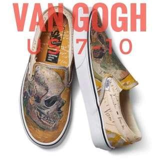 Vans x Van Gogh Skull