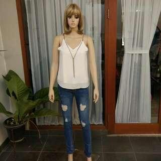 Top + Jeans (Boleh Terpisah )