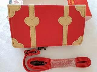 Hello Kitty Red Trunk Mobile Sling