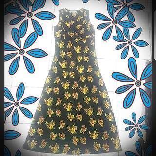 Summer Floral Maxi Dress (Contempo Casuals)