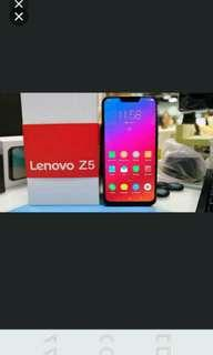 "Lenovo Z5 6.2"" inch / 6GB RAM 64GB / Black / 16mp AI camera"