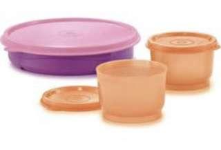 Tupperware Twinkle Feed and Snack cups