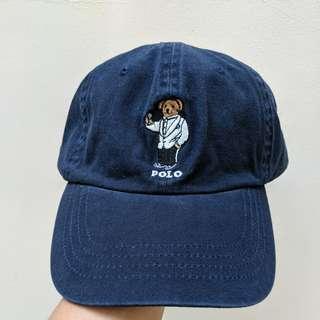 Polo Bear Ralph Lauren Navy Cap