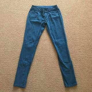 Womens Size 8 26 Grab Rushcutter High Rise Super skinny light blue jeans
