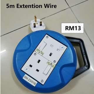 5m extension wire