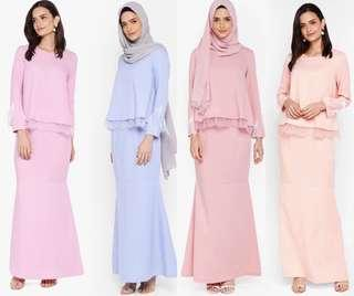 Lubna Double Layer Kurung
