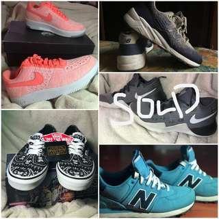 Authentic Nike x Vans x New Balance