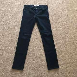 Womens Size 8 w29 Abercrombie & Fitch Dark blue jeans perfect stretch