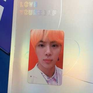 [WTT/TRADE] BTS LY/Love Yourself: Answer Jin S ver. photocard