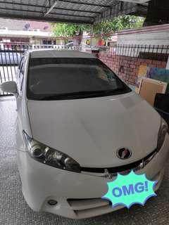 Toyota wish 2015/2009 zge20