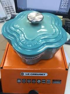 Le Creuset Cool Mint 花花煲