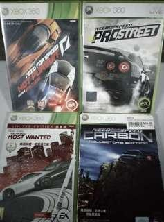 Xbox360 NEED FOR SPEED