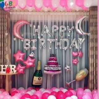 🚚 (In Stock)Birthday Party Decoration Set-Happy Birthday