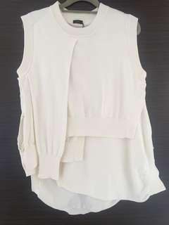 Bnwt Joseph sleeveless knit top
