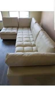 ADJUSTABLE SOFA BED COUCH SOFABED PVC
