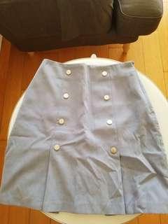 初秋 Titty 灰紫 裙 skirt
