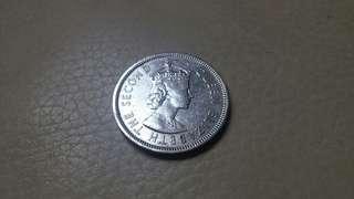 1960 英女皇頭大壹圓 每個計