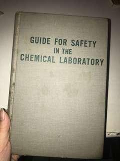 Guide for safety in the chemical lab