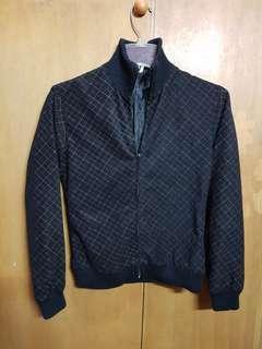 Printed Black Jacket