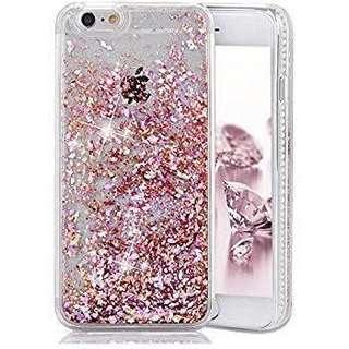 Sparkly pink glitter phone case for iPhone 6/6s