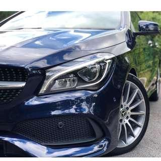$12K DEP ONLY. Mercedes-Benz CLA-Class CLA180 AMG Line facelift