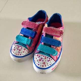 Skechers twinkle toes light up shoes