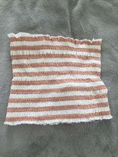 Glassons stripped bandeau