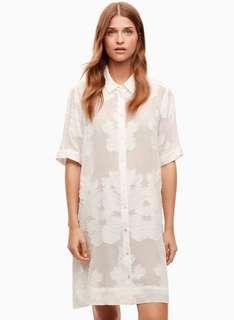 Aritzia Wilfred Hémistiche Dress